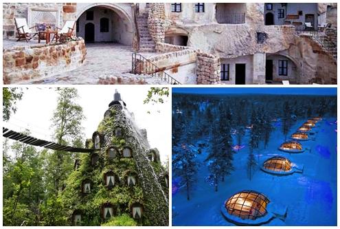 Actualidad Actualidad Conoce 7 hoteles exóticos, sólo para aventureros