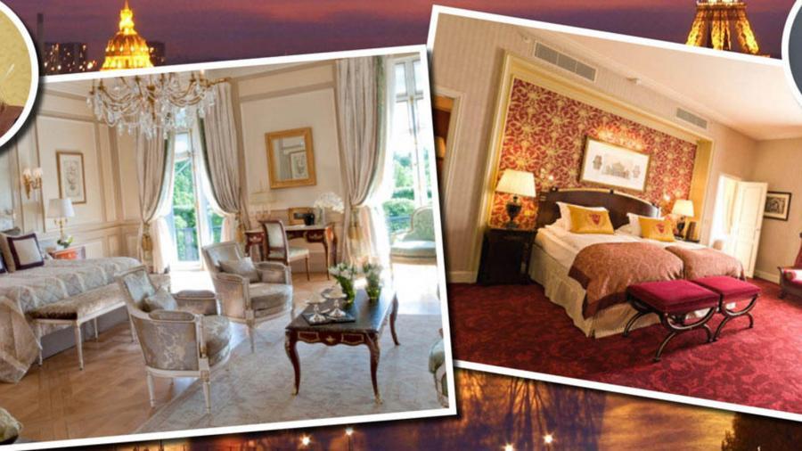 Actualidad Actualidad El hotel de 5 estrellas y 4.000 € la noche en el que Máxima se ha alojado en París