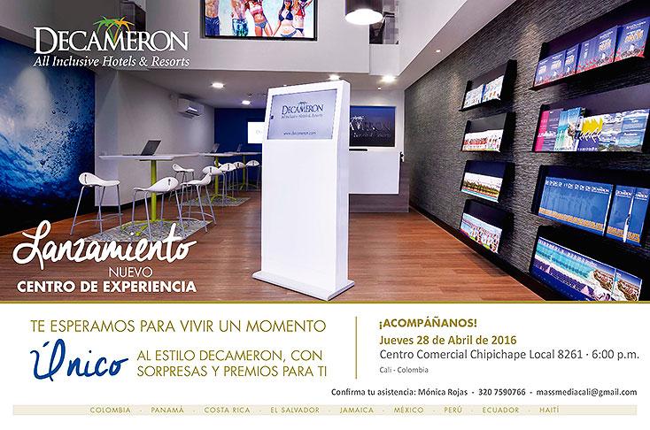 Otros paises Colombia Cadena de hoteles Decameron abre moderno centro de experiencia